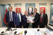CUMHURİYET HALK PARTİSİ - CHP İl Başkanı Ve Milletvekillerinden Başkan Böcek'e Ziyaret