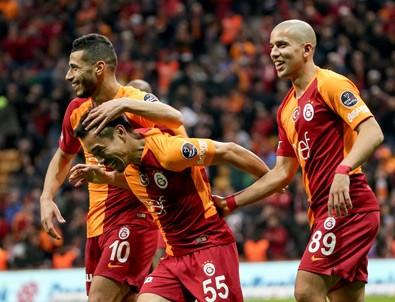 Galatasaray zirve yarışını sürdürüyor