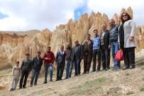 BASIN MENSUPLARI - Gazeteciler Vanadokya'yı Gezdi