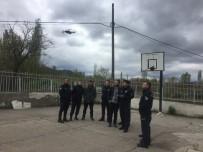 JANDARMA KOMUTANI - Göynücek'te Polis Ve Jandarmalara İHA Eğitimi