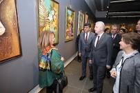 BELEDİYE BAŞKANI - 'Hanım Eller' Resim Sergisi ŞSM'de Açıldı