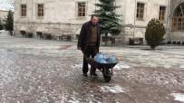 KÜMBET - Kış Kars'ta Hüküm Sürüyor