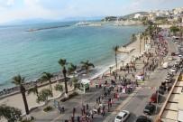 ORTAK AKIL - Kuşadası'nda 2 Kilometre Uzunluğunda Turizm Korteji