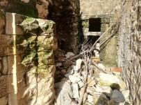 İHLAS - Mardin'de Sağanak Yağış Nedeni İle Yıkılan Duvarların Ardından Tarih Çıktı