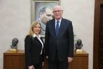 BELEDİYE BAŞKANI - Muhtarlardan Başkan Kazım Kurt'a Ziyaret