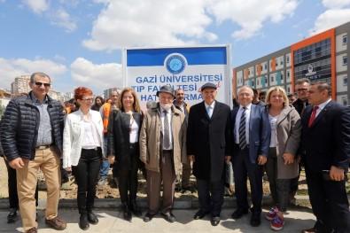 Yenimahalle Belediyesinden Gazi Tıp'a 40. Yıl Hatırası