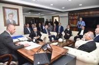 SEÇİM SÜRECİ - AK Parti Heyeti Cumhur İttifakı'nın Belediye Başkanlarını Ziyaret Etti