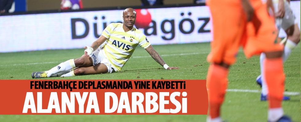 Aytemiz Alanyaspor, Fenerbahçe'yi devirdi