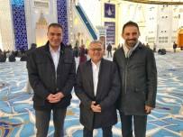 MEHMET GÜNER - Başkan Büyükkılıç'tan Çamlıca Camii'nde İnceleme