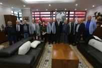 CEMEVI - Başkan Kurt, Eskişehir Hacı Bektaş Veli Anadolu Kültür Vakfı İle Buluştu