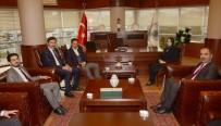 SEÇİM SÜRECİ - Leyla Şahin Usta Ve Ziya Altunyaldız'dan Başkan Kılca'ya Ziyaret