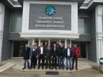 Tüm Sanayiler Yapı Kooperatifi Heyetinden Arsin OSB' Ye Ziyaret