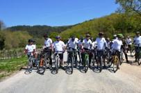 DOĞALGAZ BORU HATTI - Biga'da Bisiklet Yarışı Yapıldı