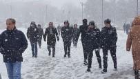 METEOROLOJI - Doğuya Kar Geri Geliyor
