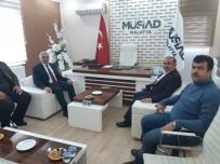 SIVIL TOPLUM KURULUŞU - Enmiyet Müdürü Urhal'dan MÜSİAD'a Ziyaret