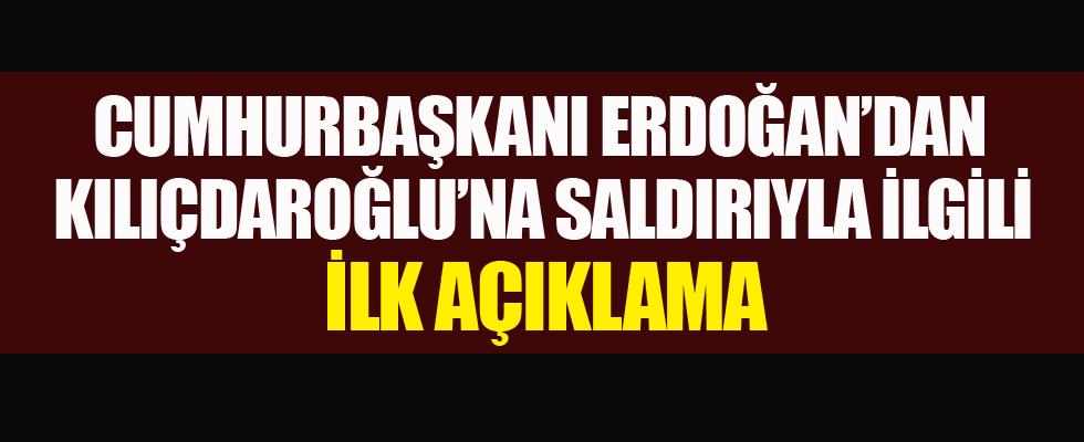 Cumhurbaşkanı Erdoğan'dan ilk açıklama...