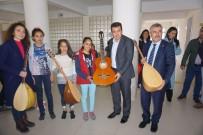 YILDIZ ANADOLU - Gercüş'te Öğrencilere Spor Ve Müzik Malzemesi Yardımı