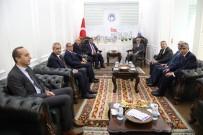 ORKESTRA ŞEFİ - Gürkan'dan Battalgazi Belediyesine Ziyaret