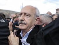 Kılıçdaroğlu'na yumruk atan şahıs gözaltına alındı