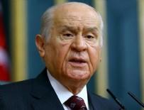 SALDıRı - MHP lideri Bahçeli'den önemli açıklama
