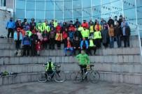 KONURALP - 4. Düzce Bisiklet Festivali Katılımcıları Düzce Üniversitesi'ne Konuk Oldu