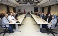 ÇAMLICA CAMİİ - AK Parti İl Teşkilatı, Başkan Büyükkılıç'ı Ziyaret Etti