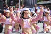 CUMHURİYET MEYDANI - Antalya'nın İlçelerinde 23 Nisan Coşkusu