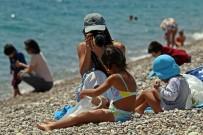 GÜNEŞLI - Antalyalı Minikler Çocuk Bayramı'nın Tadını Konyaaltı Sahilinde Çıkardı