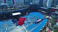 ULUSLARARASI - Ataşehir'de 23 Nisan Coşkusu Drone İle Görüntülendi