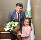 BELEDİYE BAŞKANLIĞI - Başkan Fadıloğlu, Koltuğunu Elif Su Geliş'e Teslim Etti