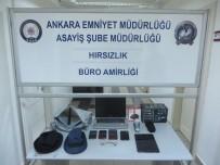 POLİS EKİPLERİ - Başkent'te Elektronik Eşya Hırsızlarına Operasyon