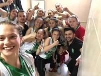 BELEDİYESPOR - Basketbolda Düzceli Kızlar Tarih Yazıyor