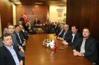 BELEDİYE BAŞKANLIĞI - CHP Tekirdağ İl Başkanı Ve Yöneticilerinden Başkan Yüksel'e Tebrik Ziyareti