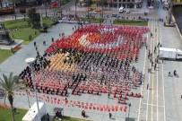 CUMHURİYET MEYDANI - İzmir'de 23 Kutlamalarında Görsel Şölen