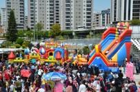 MUSTAFA KEMAL ATATÜRK - Seyhan'da 1000 Çocuk 23 Nisan'ı Coşkuyla Kutladı