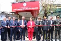 SİİRT VALİSİ - Siirt'te 23 Nisan Çocuk Kütüphanesi Hizmete Açıldı
