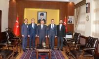 ERSIN YAZıCı - Triatlon Federasyon Başkanı Vali Yazıcı'yı Ziyaret Etti
