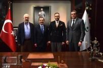 GENEL SEKRETER - Eskişehirspor Yönetiminden Başkan Ataç'a Ziyaret