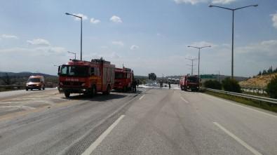 Tanker faciası, sürücü yanarak öldü