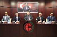MİMARLAR ODASI - GTO'nun Nisan Ayı Meclis Toplantısı Yapıldı