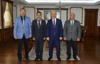 KURANCıLı - İlçe Ve Belde Belediye Başkanları Vali Akın'ı Ziyaret Etti