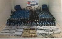 ALKOLLÜ İÇECEK - İslahiye'de Kaçak Alkollü İçecek Ve Sigara Ele Geçirildi