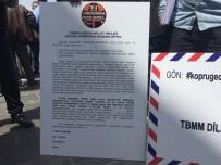 Köprü Mağdurları, TBMM'ye Dilekçe Gönderdi