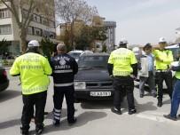 Aksaray'da Trafik Kuralı İhlaline Sıkı Denetim