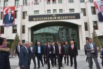 VASIP ŞAHIN - Ankara Valisi Şahin'den Kızılcahamam Ziyareti