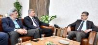 ALI BOZKURT - Gazeteciler Cemiyeti'nden Emniyet Müdürü Bilgiç'e Ziyaret