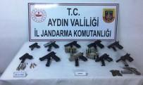 KAÇAK SİLAH - Jandarmadan Söke'de Uyuşturucu Ve Silah Kaçakçılığı Operasyonu