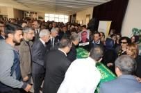 Mızraklı Doç. Dr. Hilmi İsi'n Cenaze Törenine Katıldı