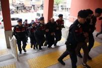 Terör Operasyonunda Yakalanan Yabancı Uyruklu Şahıslar Adliyede