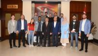 ERSIN YAZıCı - Yabancı Öğrencilerden Vali Yazıcı'ya Ziyaret